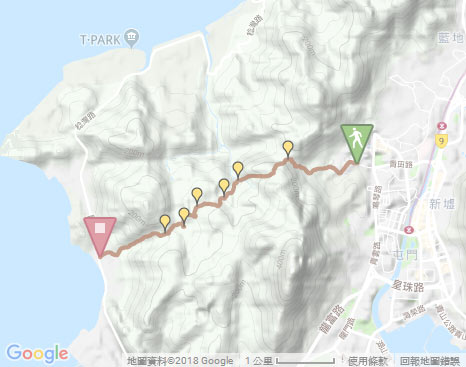 Castle Peak Basin‧Hiking in Hong Kong - WalkOnHill.com on