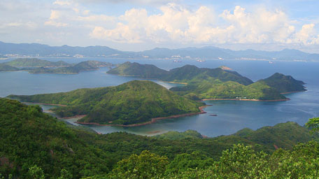 Overlook Hung Shek Mun and Double Island
